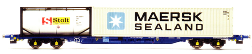 KFA Container Wagon - Stolt & Maersk Sealand