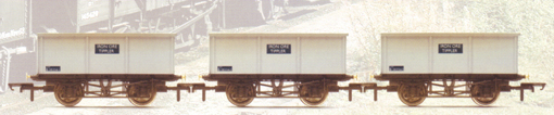 B.R. 21 Ton Iron Ore Tipplers - Three Wagon Pack (Weathered)