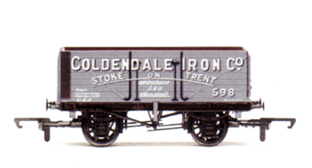 Coldendale Iron Co 7 Plank Wagon