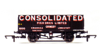 Consolidated Fisheries Limited 21 Ton Wagon