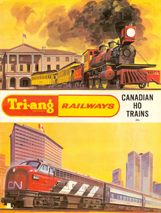 Tri-ang Railways Canadian HO Trains