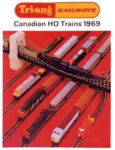 Tri-ang Railways Canadian HO Trains 1969