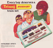 Every boy deserves a Tri-ang Hornby train set - Australian Catalogue 1970/71