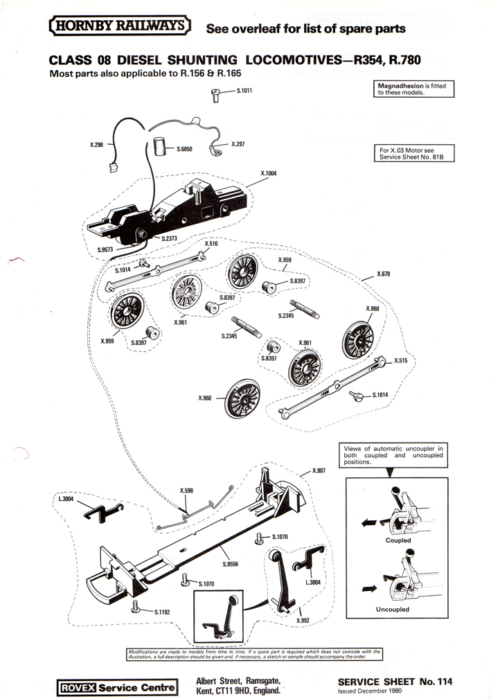 hornby r070 turntable instructions